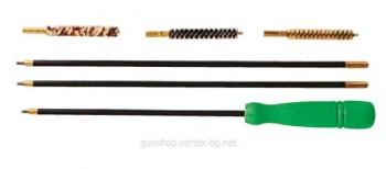 Комплект за почистване на ловно оръжие с нарезна цев