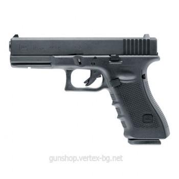 Еърсофт пистолет Glock 17 Gen4 газ 6мм