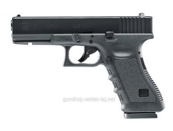 Еърсофт пистолет GLOCK 17 СО2 кал.6 мм
