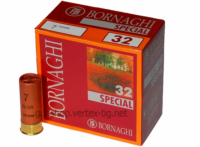 Патрони Bornaghi SPECIAL 32g N7