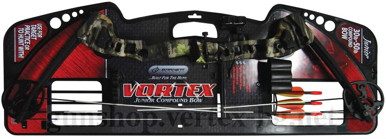 Детски лък Vortex Youth Bow Camo